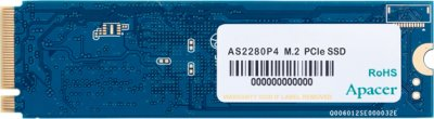 Apacer AS2280P4 240GB NVMe M.2 2280 PCIe 3.0 x4 3D NAND TLC (AP240GAS2280P4-1)
