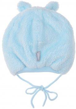 Зимняя шапка с завязками Lenne Barry 19371/400 44 см Голубая (4741578361853)