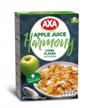 Упаковка кукурузных хлопьев АХА Harmony с отрубями 270 г х 6 шт (4820008126184)