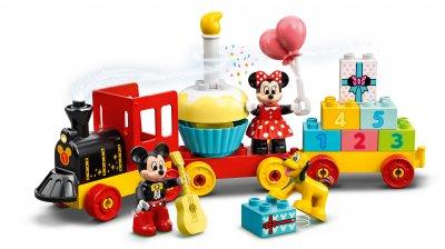 Конструктор LEGO DUPLO Disney Праздничный поезд Микки и Минни 22 детали (10941)