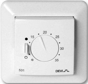 Терморегулятор DEVI Devireg 531 механический для теплого пола