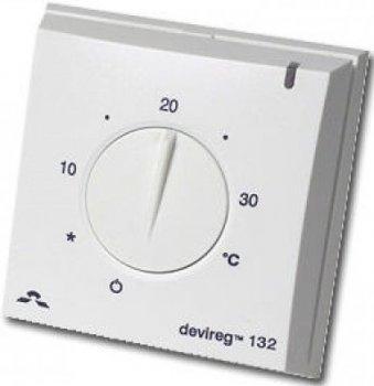 Терморегулятор DEVI Devireg 132 механический для теплого пола