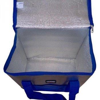 Термосумка на 25 літрів, сумка-холодильник Sannen Cooler Bag Blue