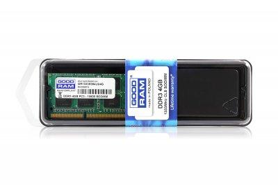 Модуль пам'яті SO-DIMM 4GB/1333 DDR3 GOODRAM (GR1333S364L9S/4G)