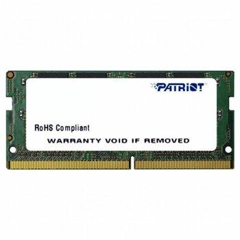 Модуль пам'яті SO-DIMM 4GB/2400 DDR4 Patriot Signature Line (PSD44G240081S)