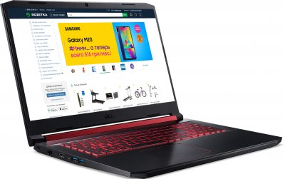 Ноутбук Acer Nitro 5 AN517-51-5712 (NH.Q5CEU.029) Shale Black