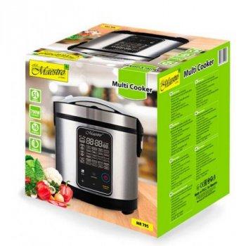 Мультиварка пароварка Maestro 5 літрів медленноварка 700 Вт краща домашня потужна помічниця на кухні MR795B