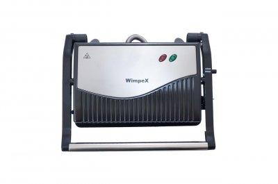Гриль электрический электровафельница пресс для дома WIMPEX 750 Вт лучший электрогриль сэндвичница бутербродница домашний для барбекю контактный настольный прижимной вафельница мультипекарь WX1063G