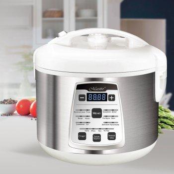 Мультиварка пароварка Maestro 5 літрів медленноварка 700 Вт краща домашня потужна помічниця на кухні MR792W