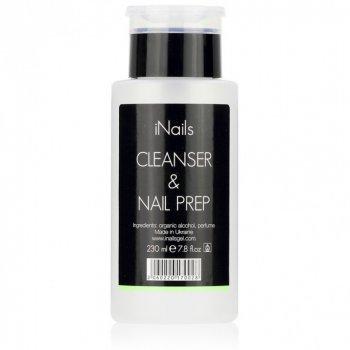 Знежирювачах Nail Prep&Cleanser iNails 230 мл