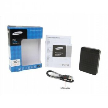 "HDD ext 2.5"" USB 500Gb Seagate M3 Portable (HX-M500TCB/G)"