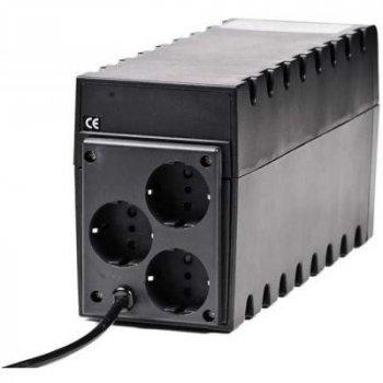 Пристрій безперебійного живлення Powercom RPT-600A Schuko