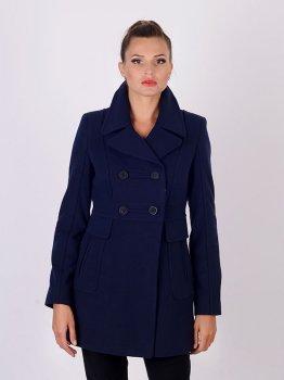 Пальто Mangust 1247-3 Синє