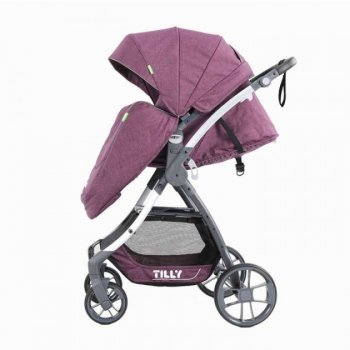 Коляска прогулянкова Baby Tilly Cross Purple (T-171)