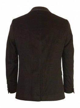 Пиджак Paulo Carvelli 7001-01 велюровый Темно-синий