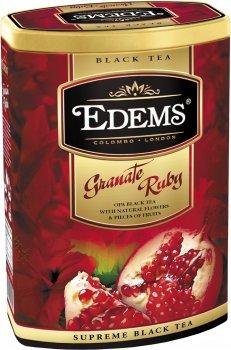 Чай черный Edems Гранат Рубин крупнолистовой рассыпной 200 г (4792055013000)