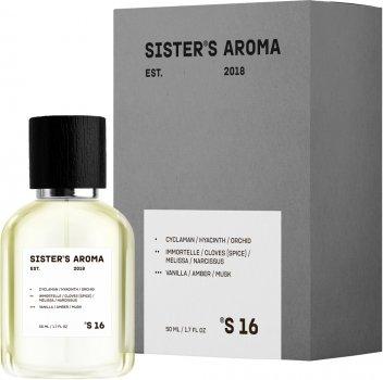 Парфюмированная вода унисекс Sister's Aroma 16 100 мл (4820227780181)