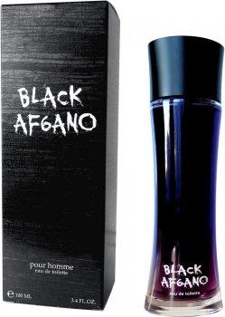 Туалетная вода для мужчин Alain Fumer Black Af6ano Parfum 100 мл (4630014637211)
