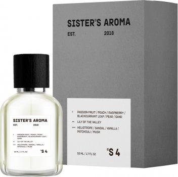 Парфюмированная вода унисекс Sister's Aroma 4 100 мл (4820227780075)