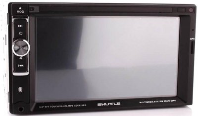 Автомагнитола Shuttle SDUN-6960 Black/Multicolor