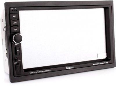 Автомагнитола Fantom FP-7030 Black/Multicolor