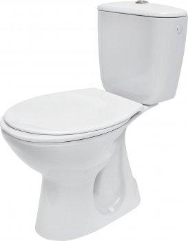 Компакт 679 PRESIDENT 010 3/6 с сиденьем полипропилен Cersanit Белый (000017561)