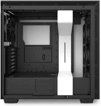 Корпус NZXT H710 Matte White-Black (CA-H710B-W1) без БЖ