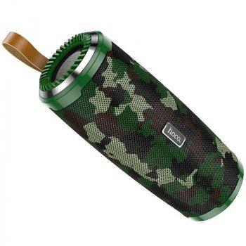 Колонка Hoco BS38 Bluetooth 5.0 FM IPX5 Camouflage Green