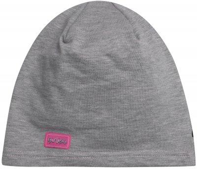 Демисезонная шапка YO! CDA-188 54-56 см Серая (ROZ6206100940)