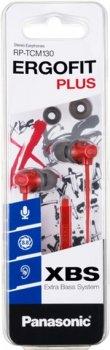 Навушники Panasonic RP-TCM130 Red (RP-TCM130GER)