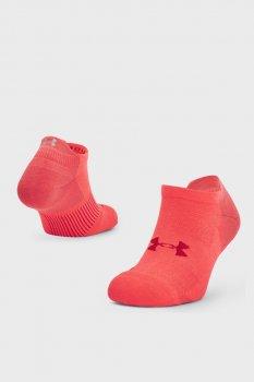 Червоні шкарпетки UA ArmourDry Run No Show-RED Under Armour 1361164-690