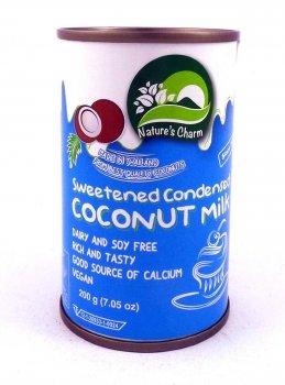 Кокосовая сгущенка Nature's Charm Ukraine, 200 г Сгущёное молоко из кокоса
