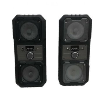 Портативна Мобільна Bluetooth колонка Kts 1048 Чорна (IM)