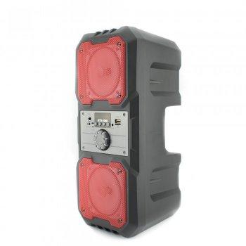 Портативна Мобільна Bluetooth колонка Kts 1048 Чорна з Оранжевим (IM)