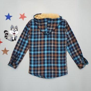Теплая рубашка Pufudi для мальчика Разноцветная 18509