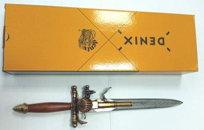 Макет пістолета-кинджала Denix Франція 18 століття (01/1204)