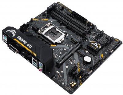 Материнська плата ASUS TUF_B360M-PLUS_GAMING s1151 B360 4xDDR4 M. 2 HDMI-DVI M. 2 Socket 3 mATX