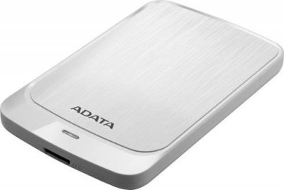 "Жорсткий диск ADATA 2.5"" USB 3.2 1TB HV320 White"