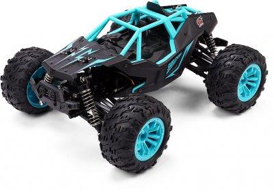 Машинка на радіокеруванні Toys-Sky Skeleton високошвидкісна Black/Blue (4820177260634)