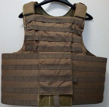 Бронежилет чехол Shark Releaseable Molle Armor 90005 (CIRAS) Land Version, 900D Medium/Large, Coyote Brown