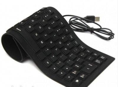 Клавиатура силиконовая гибкая USB X3 6966 (LO050)