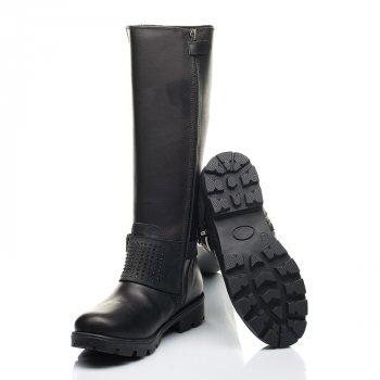 Зимние сапоги на меху Woopy 39 черный 7222a