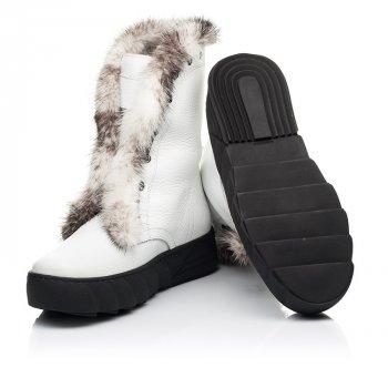 Зимові чоботи на хутрі Woopy 37 білий 7251a