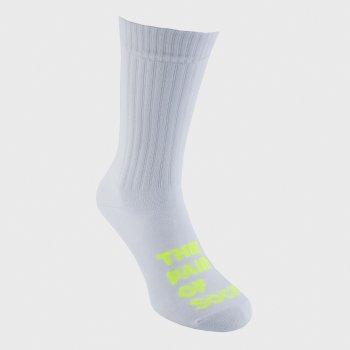 Носки The Pair of Socks White N Neon Big Logo 1P-11002WH-NE Белые M