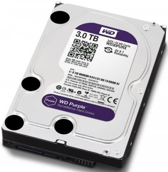 "Жесткий диск 3.5"" 3TB WD (WD30PURZ)"