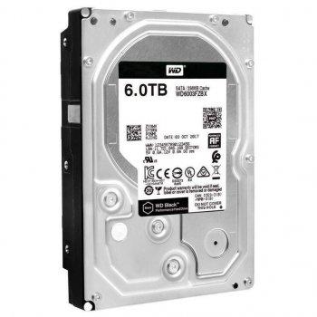Жорсткий диск WD SATA 6TB (WD6003FZBX) Black