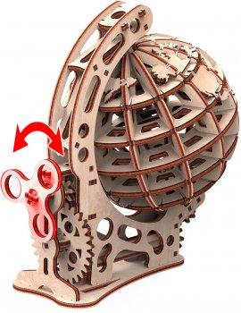 Конструктор 3D из дерева Mr. Playwood Глобус S 125 деталей (10033) (4820204380243)