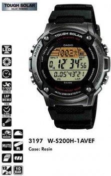 Годинник CASIO W-S200H-1AVEF