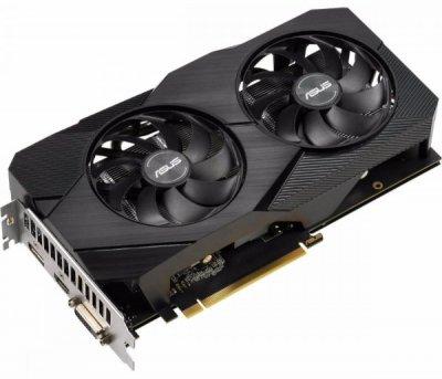 Відеокарта Asus Dual GeForce GTX 1660 EVO OC Edition 6GB GDDR5 шина пам'яті 192-bit