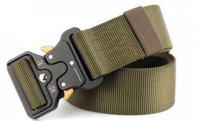 Ремінь тактичний Assault Belt з металевою пряжкою 145 см Green (3_8164)